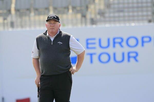 Brendan McGovern is living the dream on the Seniors Tour