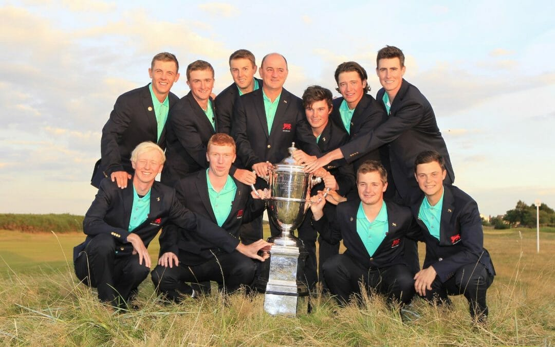 Five Irish selected on initial Walker Cup Panel