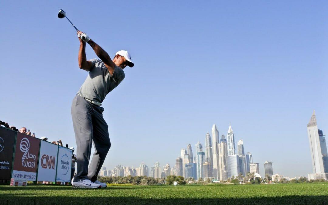 Woods inspired by Federer ahead of Dubai Desert Classic