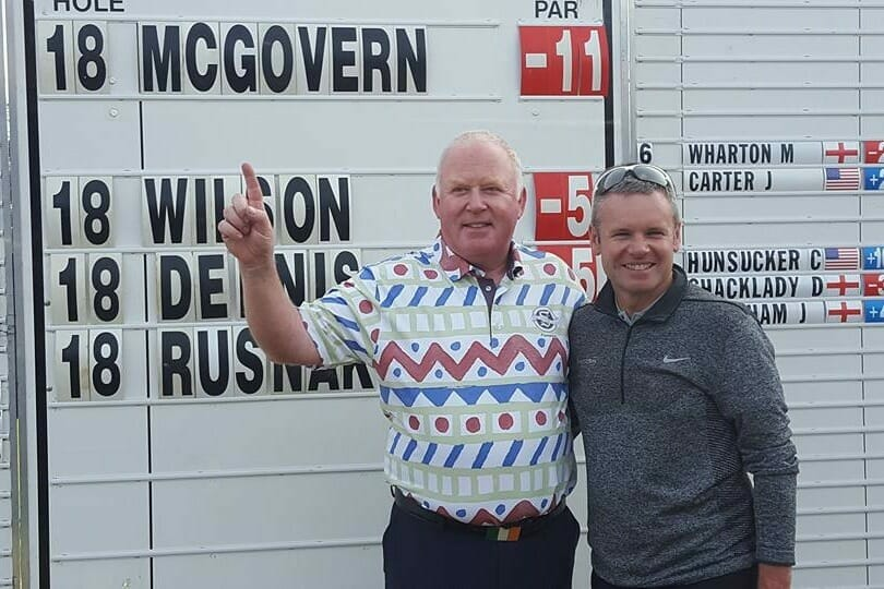 Emotional McGovern finishes top of the class at Q-School
