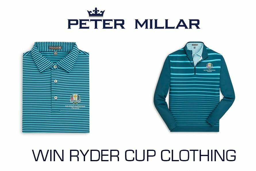 Win 2018 Ryder Cup clothing from the Peter Millar Collection