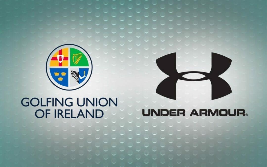 Golfing Union of Ireland partner with Under Armour