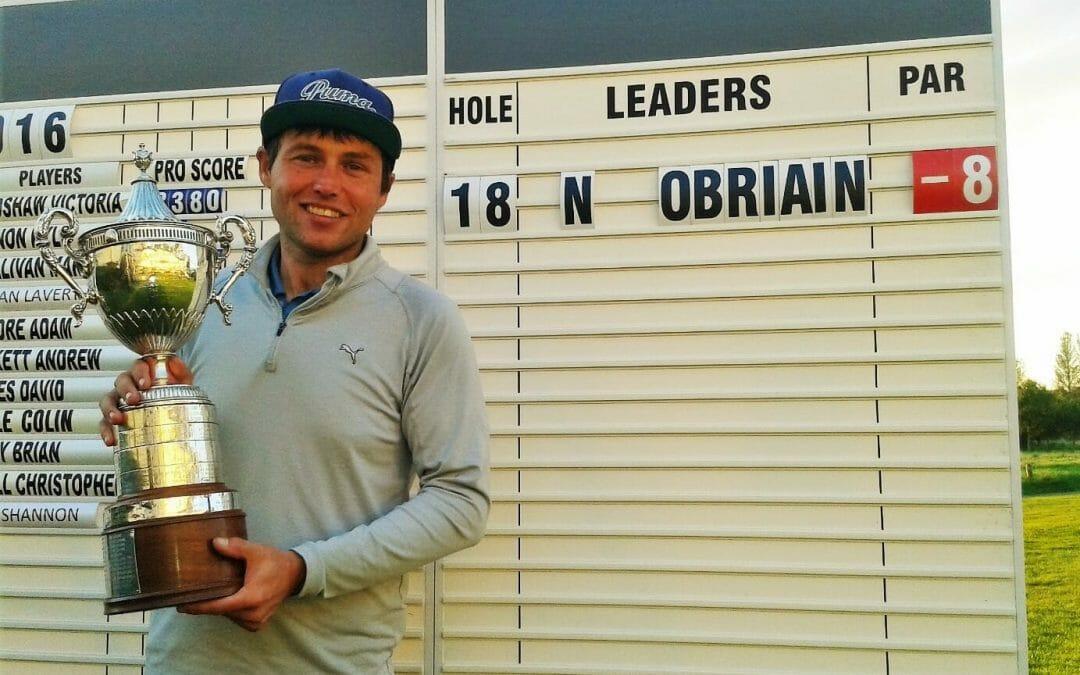 O'Briain claims Ulster PGA Championships