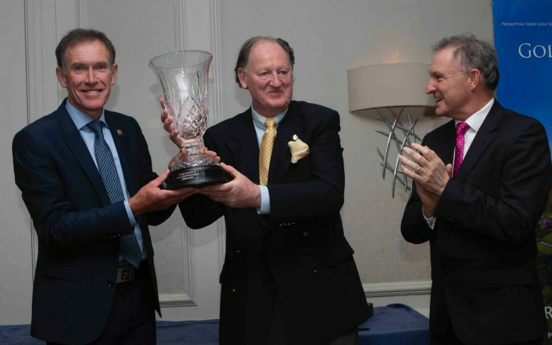 Golfers Guide & PGA Irish region annual award winners