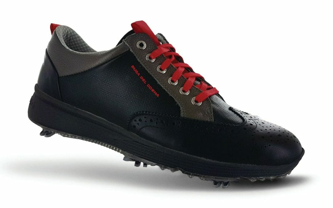 Duca Del Cosma release its first spiked golf shoe models
