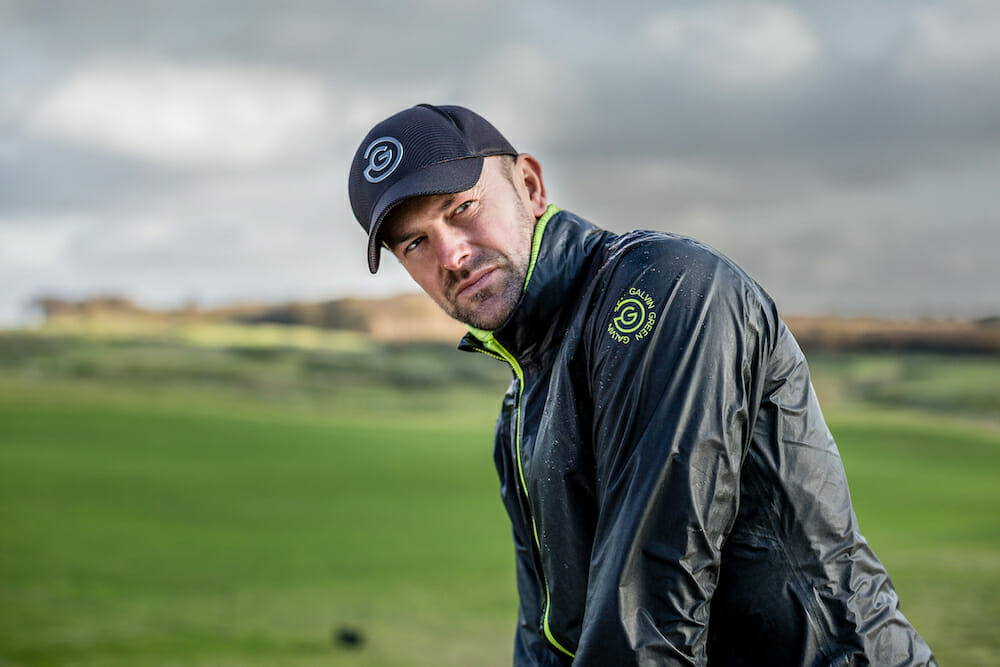 Galvin Green going extra light with new ShakeDry jacket