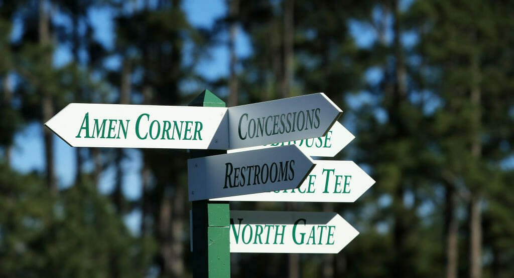 I love the Masters, in spite of everything