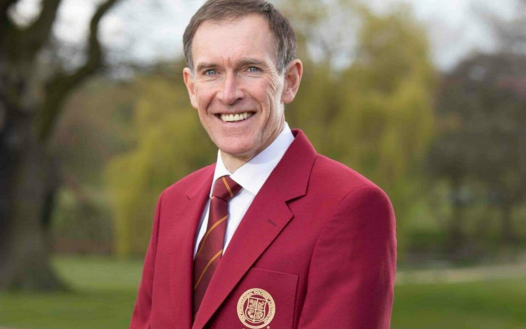 Lurgan's Peter Hanna takes up role as PGA Captain