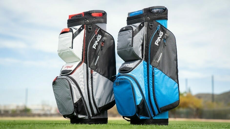 Bags of style and performance in new PING cart bag collection