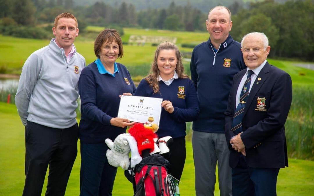 Record tumbles at the feet of Mairead Martin in Killarney