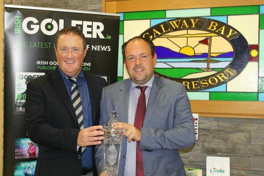 McGeady & Quinlivan top the leaderboard at the Irish Golfer Galway Bay Pro-Am