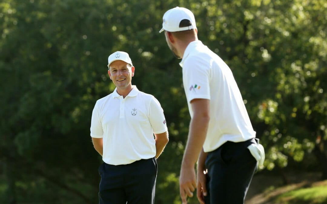 Vice-Captain Higgins embracing new role at PGA Cup
