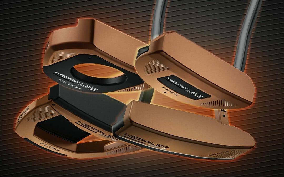 PING introduces Heppler putters