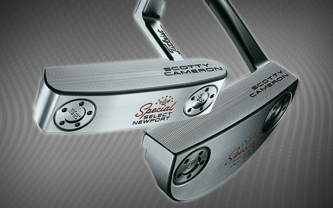 Titleist Introduce new Scotty Cameron Special Select Putters
