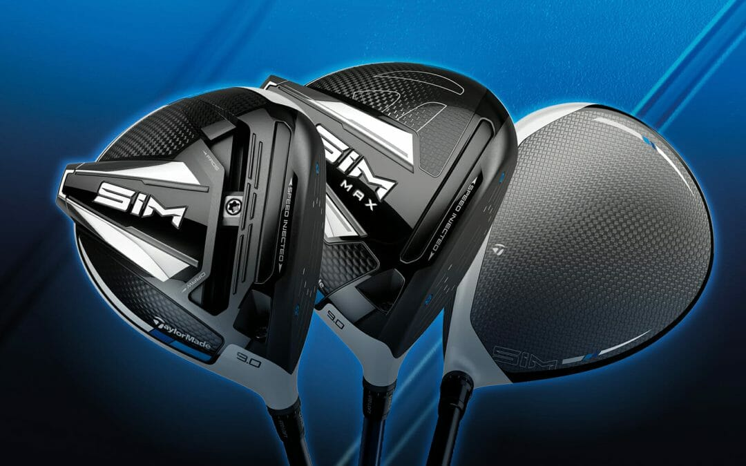 TaylorMade unveils its new shape of performance with SIM Metalwoods