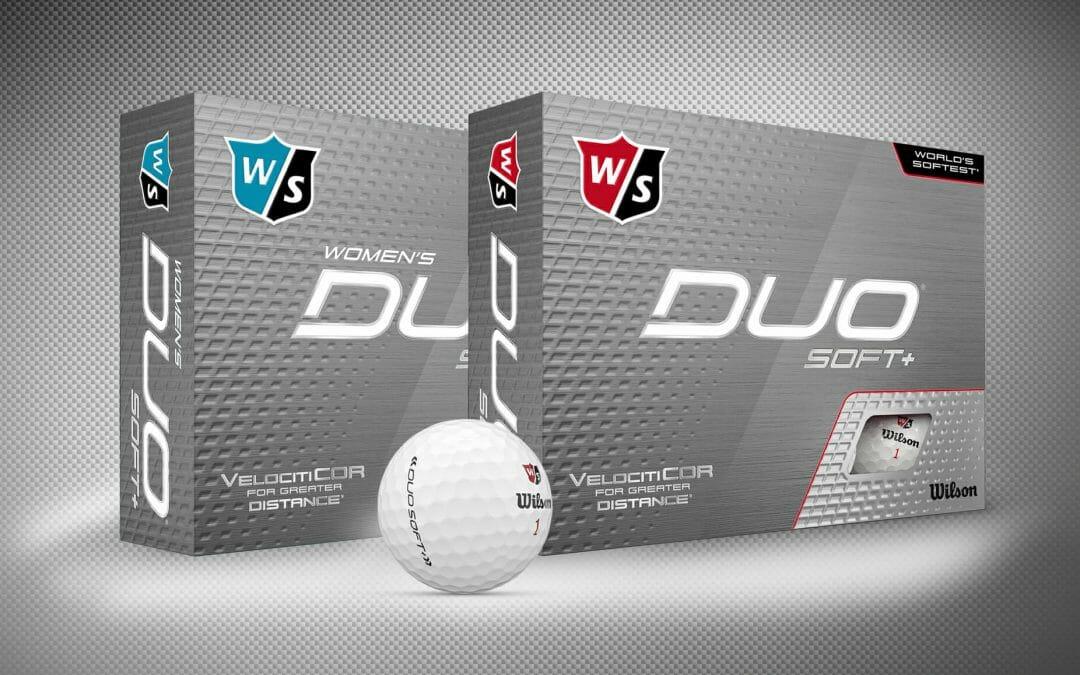Wilson reveal new DUO Soft+ and DUO Optix golf balls