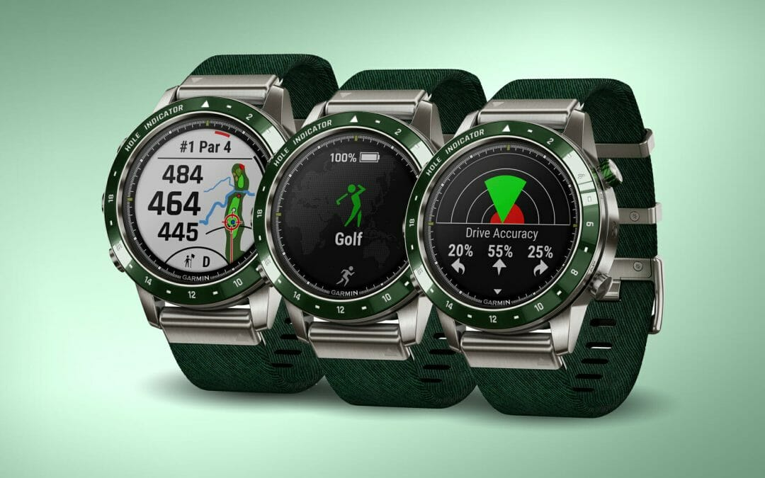 Style, comfort and functionality, the MARQ Golfer from Garmin