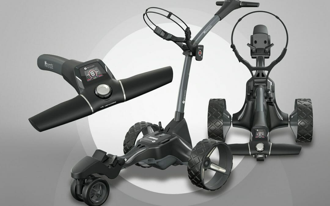 Motocaddy M7 remote offers even more hands-free control
