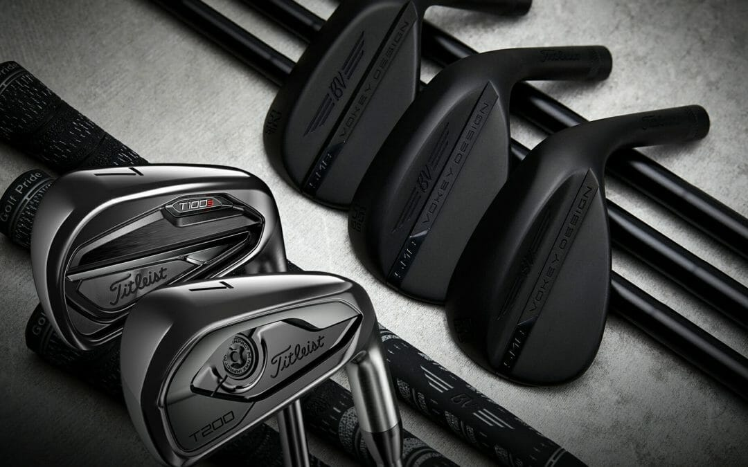Titleist launch limited edition black finish of its T100 and T200 irons and SM8 wedge