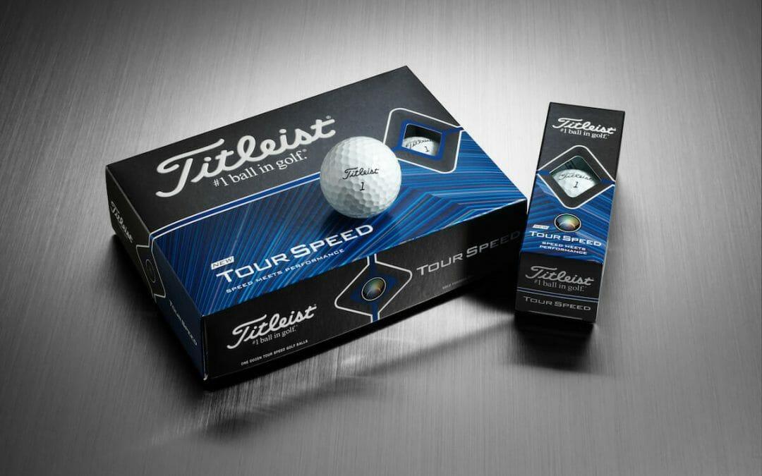 FIRST LOOK: The all-new Titleist Tour Speed golf ball