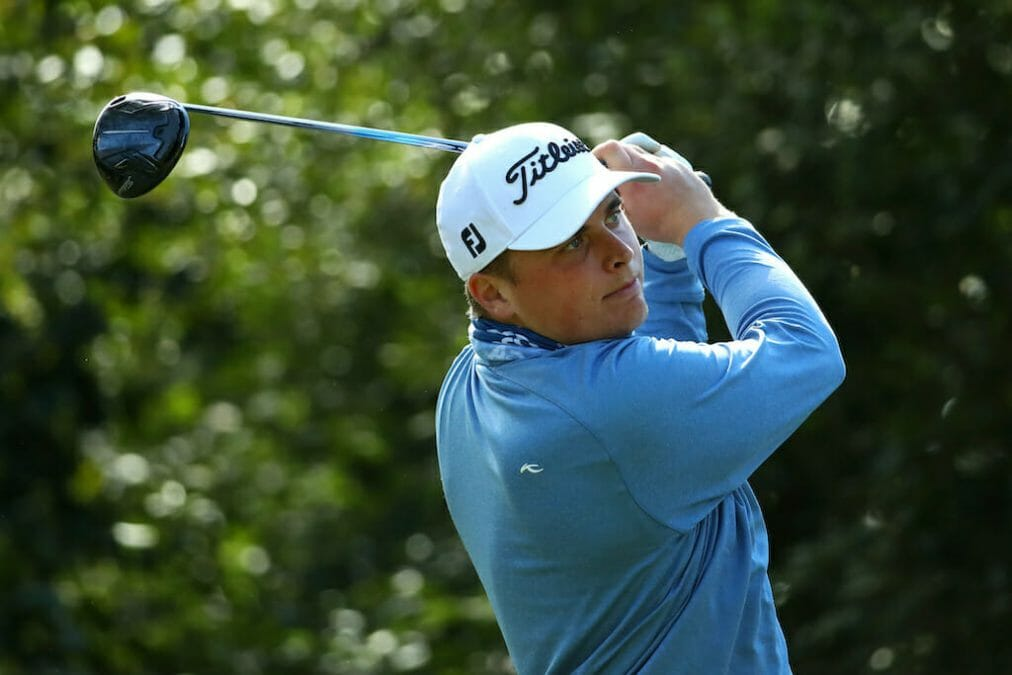 Sugrue rallies to make first professional cut at the Dormy Open in Sweden