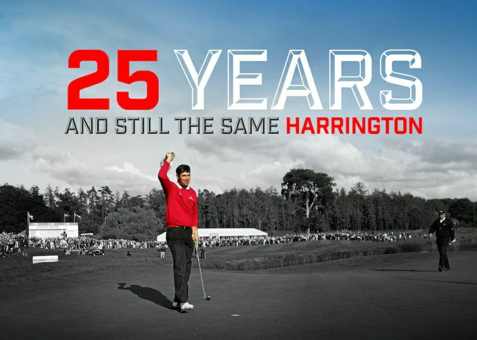 25 years and still the same Harrington