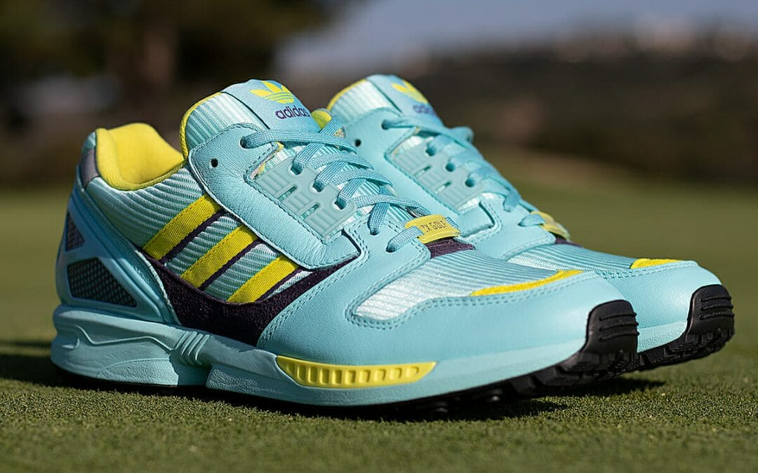 Now on the Tee: Limited-Edition adidas ZX 8000 golf shoes