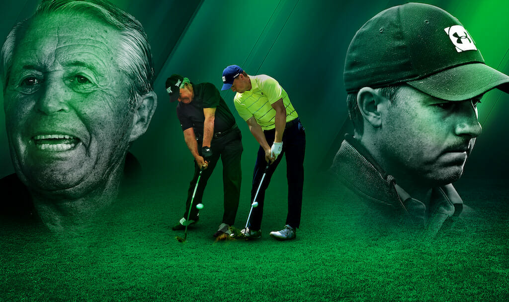 Gary Player, 85 not out; Jordan Spieth, 27 and on the floor