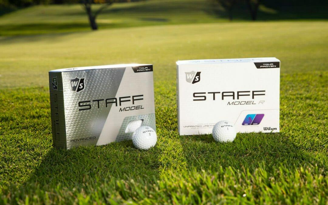 Wilson launch two new Tour staff model golf balls