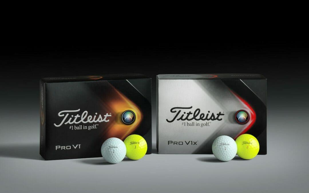 Titleist lifts lid on new ProV1 & Pro V1x golf balls