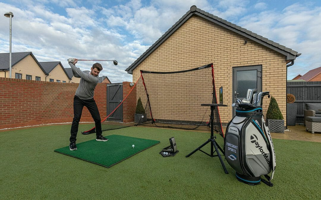 Get the ultimate home golf setup with Foresight Sports Net Series