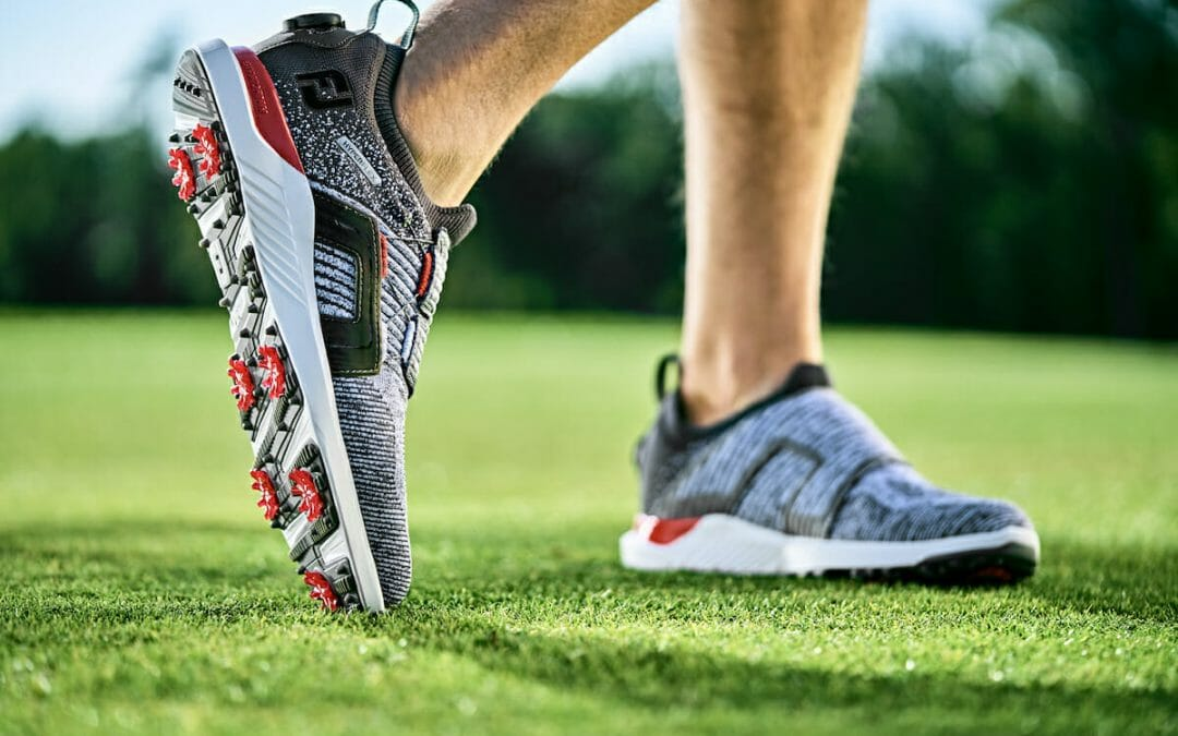 FootJoy's new HyperFlex shoe specifically tuned for golf