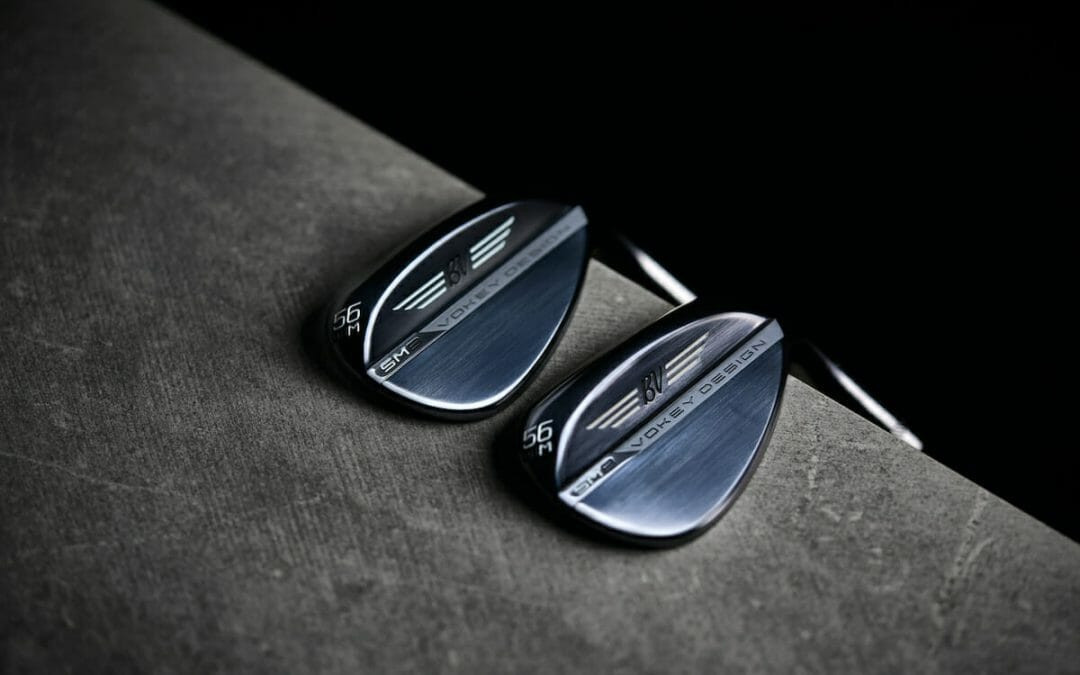 Titleist introduce their Vokey Design SM8 wedges in slate blue finish