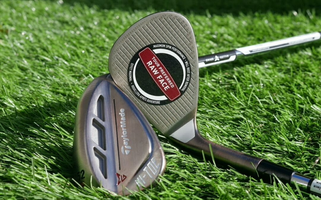 TaylorMade bring more zip to its Hi-Toe wedge line with a Raw finish