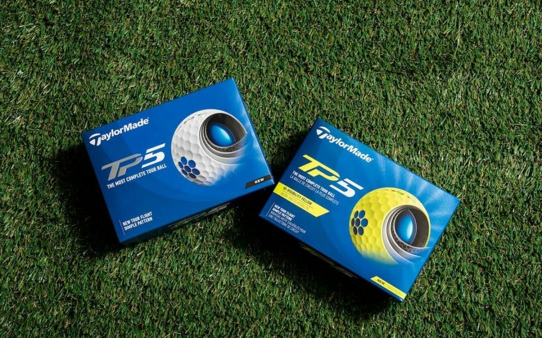TaylorMade update TP5 & TP5x golf balls for 2021