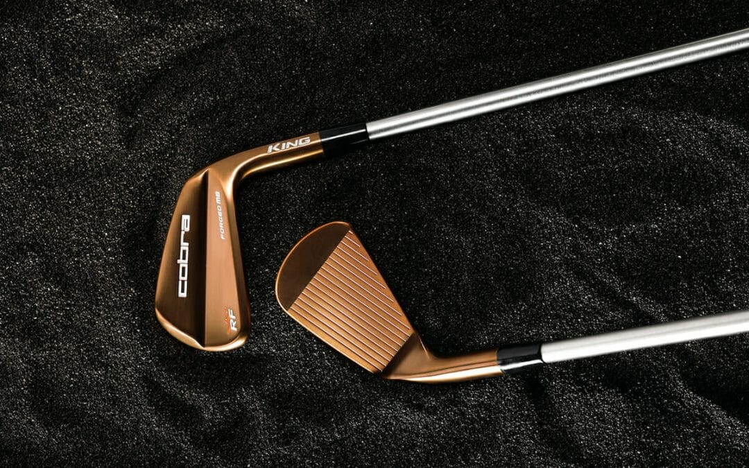 COBRA Golf Launch new copper finish RF Forged MB & Forged Tec Irons