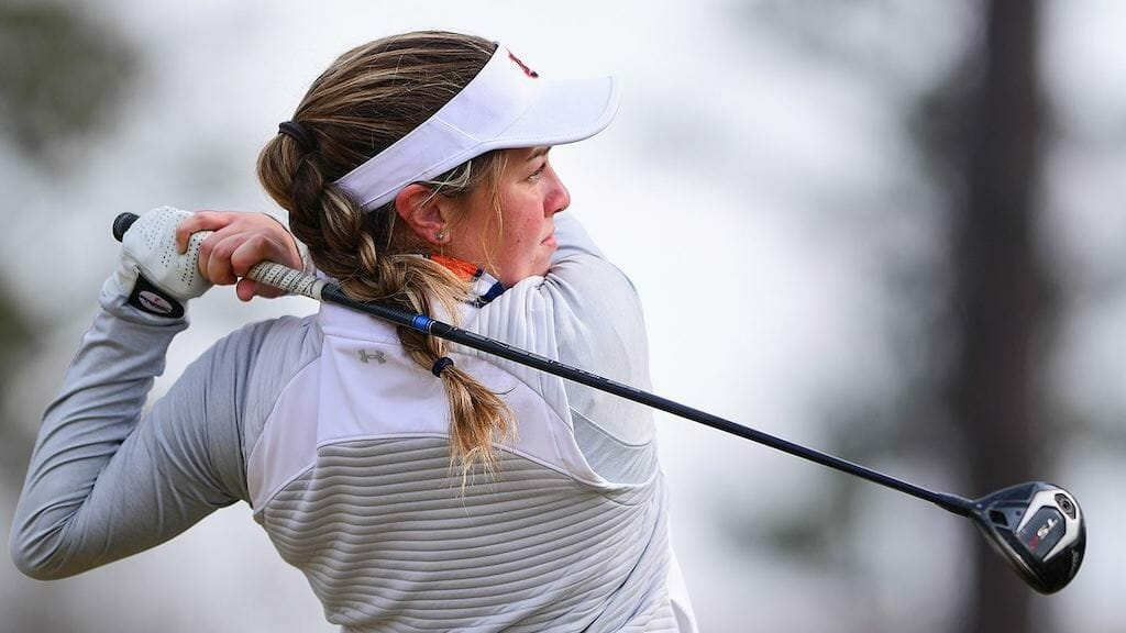 Foster fires career-low round to lift Auburn at Old Waverly