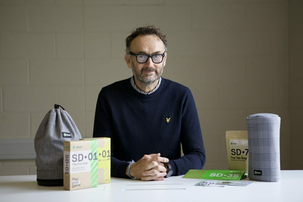Irish based start-up Seed Golf continues to soar in the golf space
