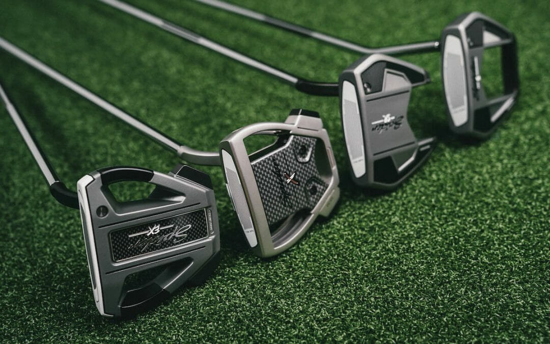 TaylorMade expands its Spider putter range with four new models