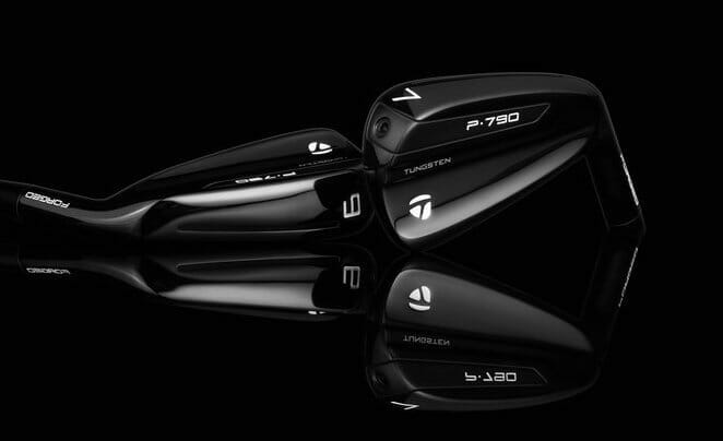 TaylorMade unveils its new P•790 black irons