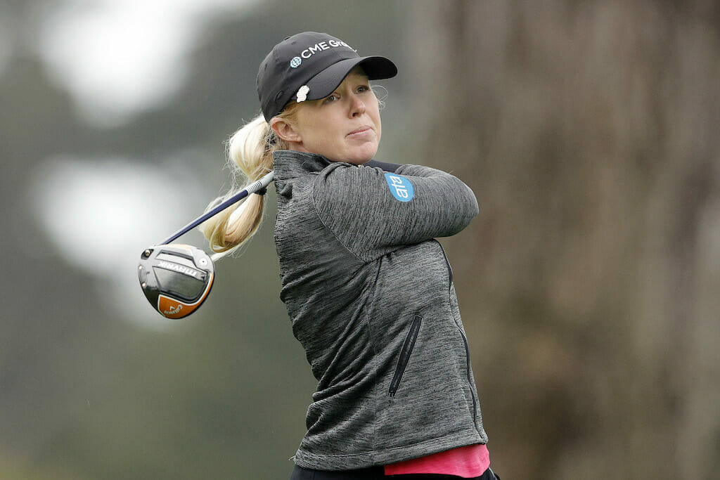 Meadow makes solid start but trails by six in Arkansas