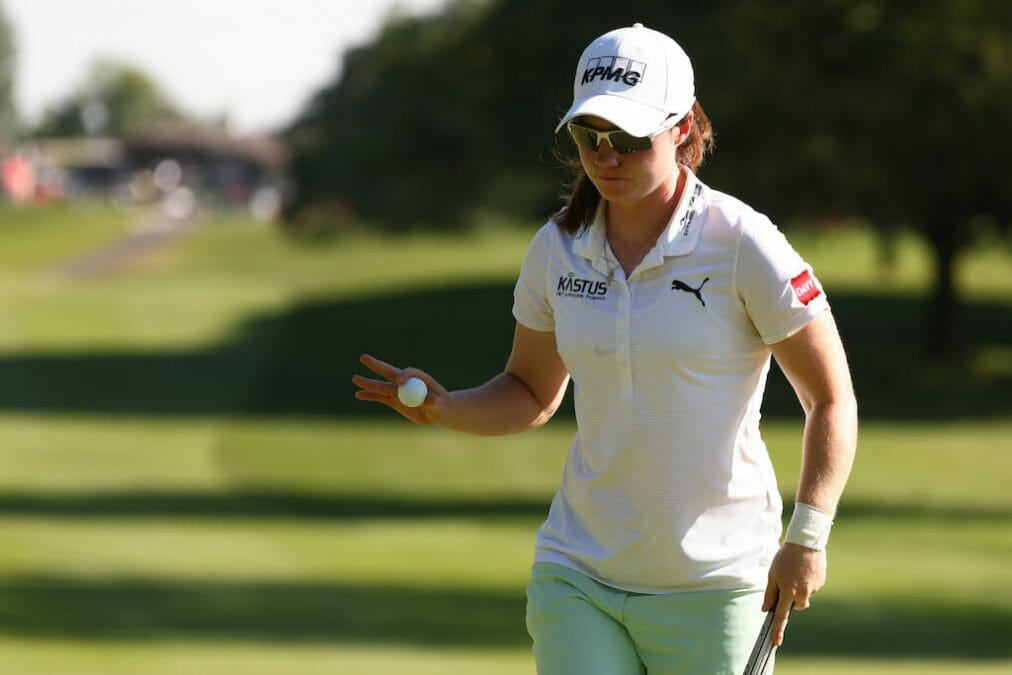 'Rusty' Maguire pleased to put herself at the right end of the leaderboard in New Jersey