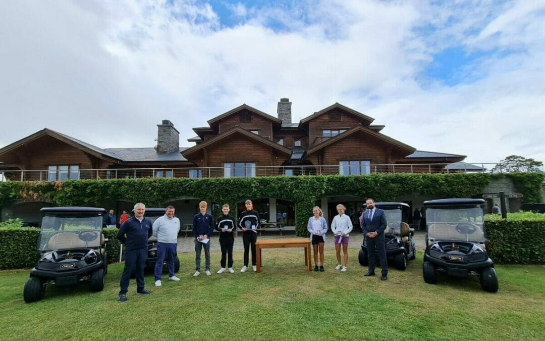 Family affair as Keeling brothers battle it out for Faldo Series Ireland Championship