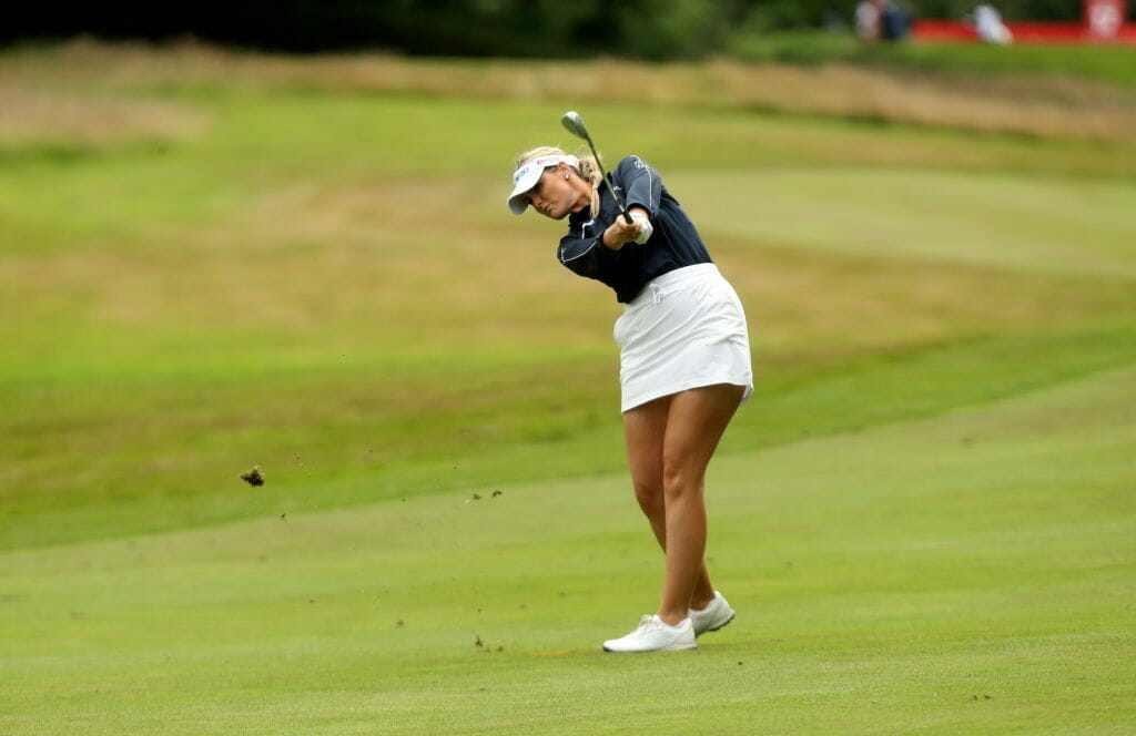 'Rollercoaster' day sees Mehaffey safely through to final round at Galgorm Castle