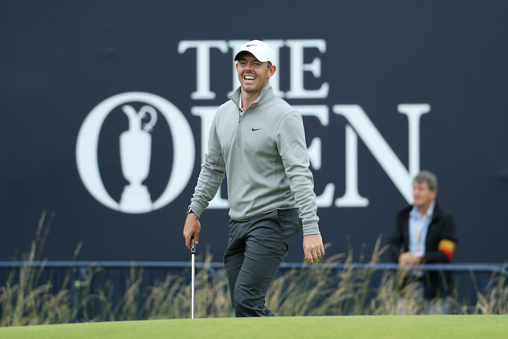 McIlroy drawing inspiration from Clarke's Royal St. George's win
