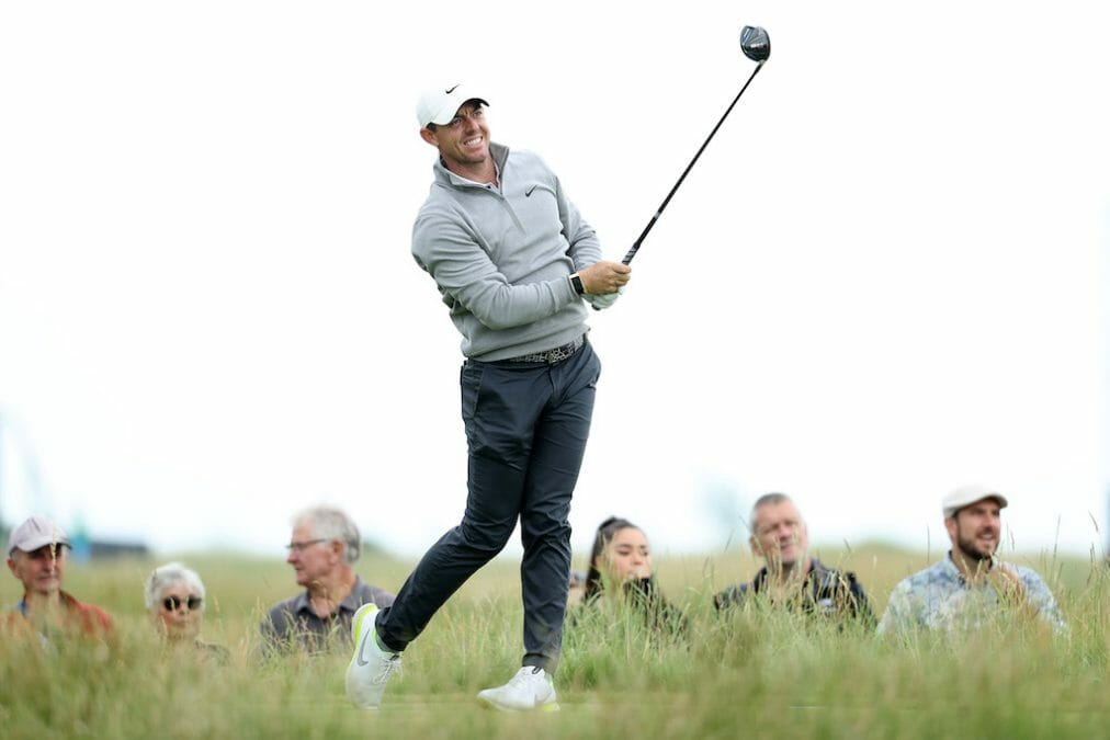 McIlroy vows he's over Royal Portrush opening hole stage fright