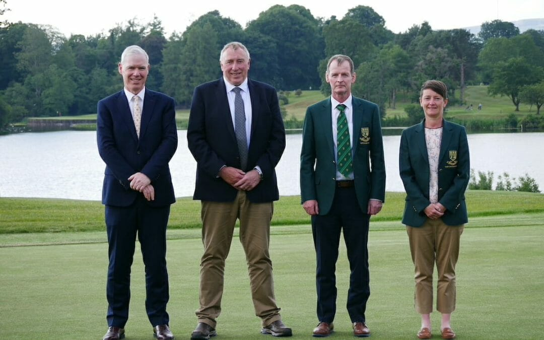 The Allianz Irish Golfer Officers Challenge off to a flying start at Malone GC