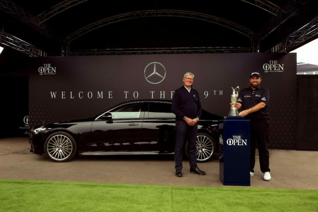 Mercedes-Benz brings defending champ Lowry to The Open in style