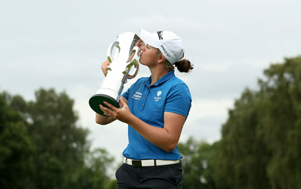 Darling denies Coulter to claim Girls Amateur crown