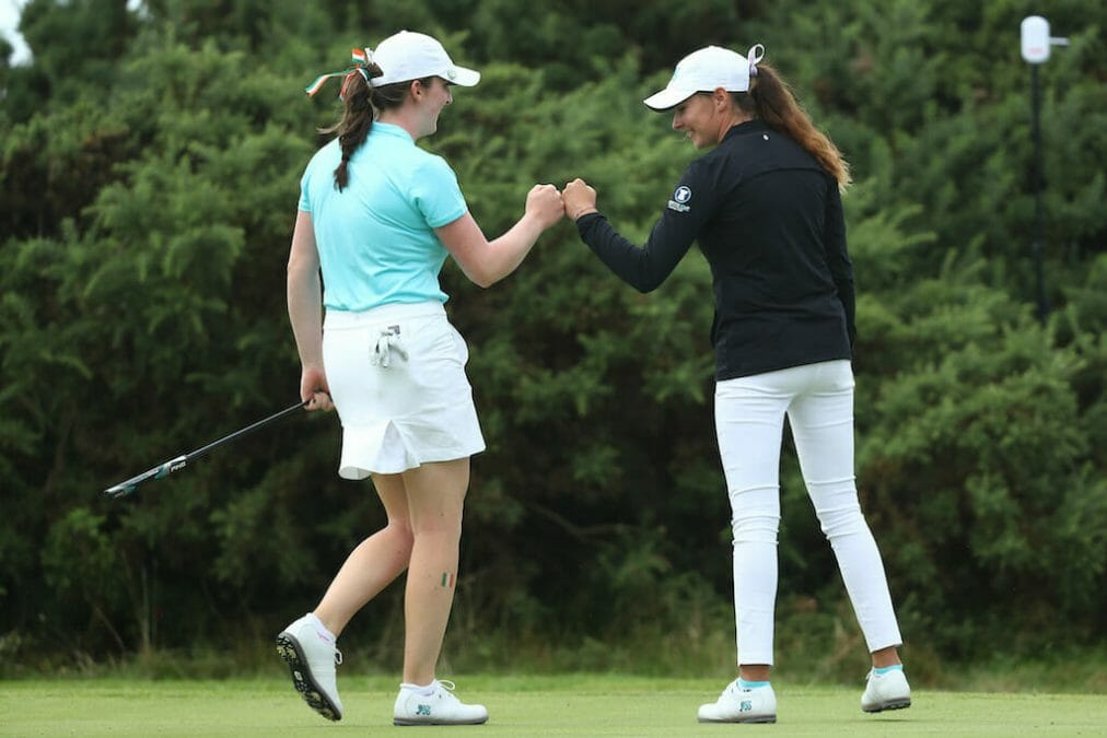 GB&I hit the ground running on dominant first day at Curtis Cup